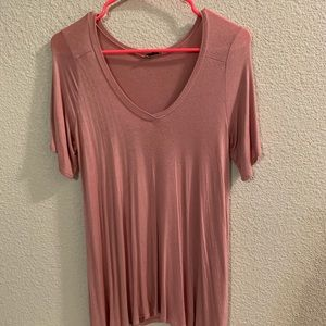 Dusty Pink Short Sleeved Tunic